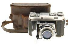 KODAK RETINA II RANGEFINDER CAMERA RETINA-XENON SCHNEIDER 1:2/50mm LEATHER CASE
