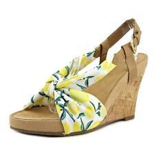 Sandalias y chanclas de mujer de tacón alto (más que 7,5 cm) de lona talla 37