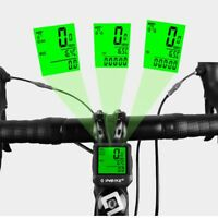 Backlight Cycling Wired Bike Computer INBIKE Odometer LCD Bicycle Speedometer