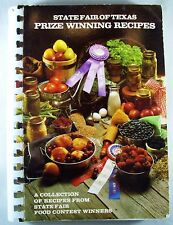 Signed State Fair of Texas Prize Winning Recipes 1983 Cookbook Cookbooks