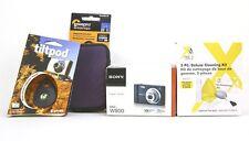 Sony Cyber-shot DSC-W800 20.1 MP - Digital Camera Bundle - Black - Free Shipping