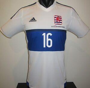 Luxembourg National Team Adidas BARREIRO #16 Football Shirt Jersey Soccer XXL