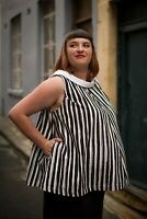 'Miss Vee' Maternity Top - Mamas All That - Vintage Inspired Maternity Wear