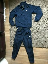 Nike Mens Full Tracksuit (Navy Blue) Size Small - BNWT