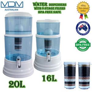 Aimex Water Filter Bottle 8 Stage Ceramic 16L / 20L Bench Top Dispenser Purifier