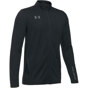Under Armour Boys Track Top Quarter / Full Zip Junior Long Sleeve Sports Jacket