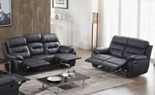 Voll-Leder Couch Sofa Garnitur Relaxsessel Fernsehsessel 5131-3+2-S sofort