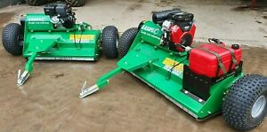 Alpha Easiflo velocity 2020 150cm ATV flail mower with 25hp V-Twin engine!