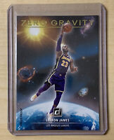 LeBRON JAMES 2020-21 Donruss ZERO GRAVITY PRESS PROOF GOLD Panini Lakers #2