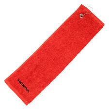 Genuine Honda Luxury Golf Towel ( ** Part Of The Honda Merchandise Range ** )