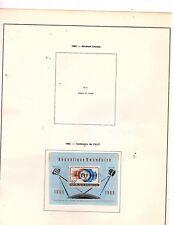 Rwanda  stamps (5 MINISHEETS)   (mb7