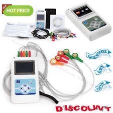 Contec TLC9803 3 Channel 24 Hours Dynamic ECG Holter EKG Monitor Recorder USB CD