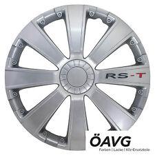 "4x Radzierblenden Radkappen RST RS-T 14 "" Zoll VW BMW Audi Renault Citroen Opel"