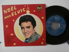 "elvis presley""noel avec elvis""ep7""fr or.rca area:85249-1ére presse rare 1958"