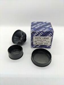 4mm f2 C Mount CCTV Lens