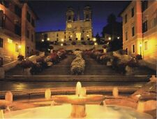 """Trinita Dei Monti Church,...The Spanish Steps""  'Postcard' (B-404)"