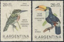 Argentina 1967 Kingfisher/Toucan/Birds/Welfare/Nature/Wildlife 2v set (n31948)