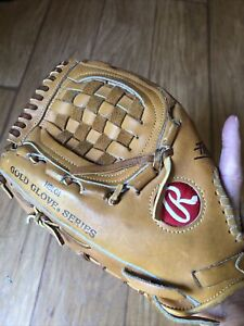 Rawlings Pro-6 Heart Of The Hide Gold Glove HOTH USA Tanned Leather LHT Fastback