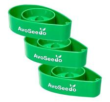 AvoSeedo Bowl, Perfect Avocado Tree Growing Kit – Green 3pk