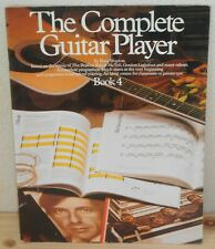 SPARTITO TABLATURE THE COMPLETE GUITAR PLAYER 4 (80) Beatles McTell Donovan tab