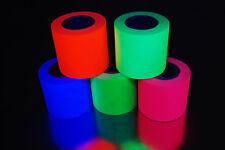 5 Pack 2 Inch UV Blacklight Reactive Fluorescent Gaffer Tape 5 Rolls x 6 Yards