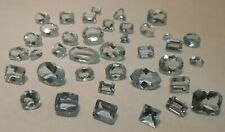 Loose 101.2 CTW -Natural Aquamarine Gemstone Collection- Tested -Assorted Shapes