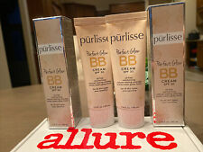 2 Purlisse Perfect Glow BB Cream SPF30 In TAN Full Size 1.4oz, 40ml New With Box