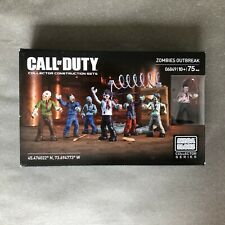 Mega Bloks Construx Call of Duty 06849 Zombies Outbreak *Factory New Sealed* Toy