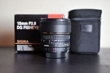 Sigma EX DG AF 15mm F/2.8 FX Fisheye Lens - Nikon    MINT!