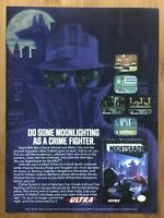 Nightshade NES Nintendo 1992 Vintage Game Print Ad/Poster Official Authentic
