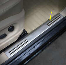 4x Outer Side Door Sill Guards Scuff Plate Trim For Volkswagen Tiguan 2010-2015