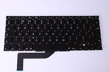 "Apple MacBook Pro Retina a1398 2013 15"" Keyboard QWERTY Layout UK mc975 mc976"