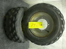1999 YAMAHA BLASTER WARRIOR RAPTOR BANSHEE FRONT TIRES & WHEEL 4156Z1