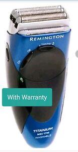 Remington Titannium MS3-1700 Washable-Cordless-Rechargeable Electric Shaver