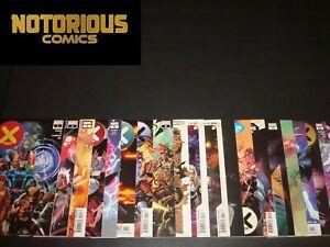 X-Men 1-21 Complete Comic Lot Run Set Hickman X of Swords Hellfire Gala Marvel