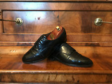 Churchs Custom Grade Black Leather Derbys