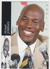 MICHAEL JORDAN 1994 Upper Deck RETIREMENT Basketball INSERT Card CHICAGO BULL $$