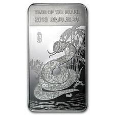 10 oz Silver Bar - APMEX (2013 Year of the Snake) - SKU #71915