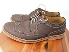 Bostonian Pariden Wing Mens Brown Suede Casual Dress Oxfords Shoes Size 10.5