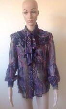 Paisley 100% Silk Tops for Women