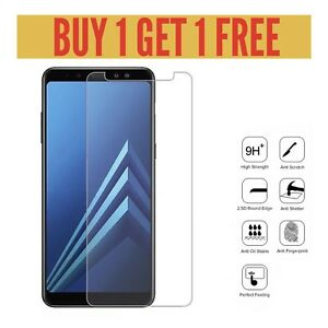 100% Genuine Premium Tempered Glass Screen Protector For Samsung Galaxy A9 2018