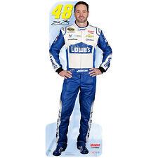 JIMMIE JOHNSON #48 NASCAR Auto Racing CARDBOARD CUTOUT Standup Standee Poster