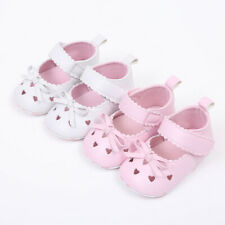 0-18M Newborn Infant Baby Girl Kid Summer Bow Crib Shoes Soft Anti-slip Sneakers