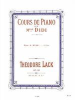 Cours de piano de Mademoiselle Didi - Etudes - volume 1