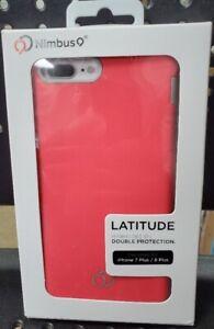 Nimbus9 LATITUDE Hybrid Design Case for Apple iPhone 8+/7+  - Pink