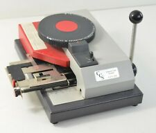 Toho Seiki Custom Card Systems Ccs 200 Card Embossing Machine