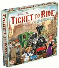Days of Wonder DOW720115 Ticket to Ride Germany Board Game, 2 to 5 Players