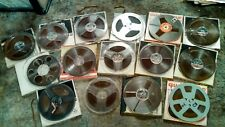 VINTAGE LOT OF RECORDED REEL TO REEL MUSIC TAPES ZEPPELIN,BLACK SABBATH,CCR,ETC