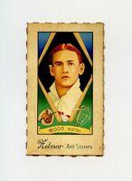RARE HELMAR Baseball Card: #384 SMOKY JOE WOOD Boston Red Sox SCARCE