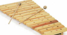 "Xylophon ""15 Noten"" aus Naturholz (7137), Instrument für Kinder, NEU"